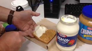 Tényleg be lehet tépni az erekbe fecskendezett majonézes mogyoróvajtól?