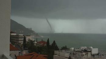 Őrült vihar csapott le a horvát partokra