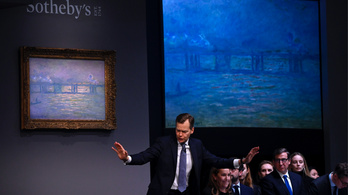 Közel 8 milliárd forintért kelt el Monet egyik festménye