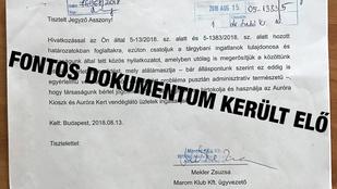 Tavaly óta az önkormányzatnál volt egy nyilatkozat, ami megvédi az Aurórát