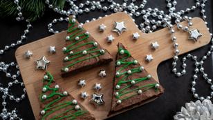 Ha imádjátok a különlegességeket: karácsonyi szarvasgombás brownie házi tejszínhabbal