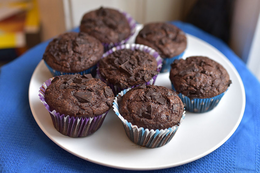 duplacsokis muffin kicsi