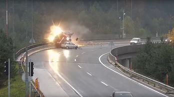 Corsás ölt magyar kamionost Szlovéniában