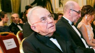 Vitray Tamás 87 évesen válik