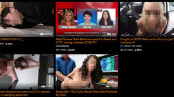 Pornhubra költözött a kínai propaganda