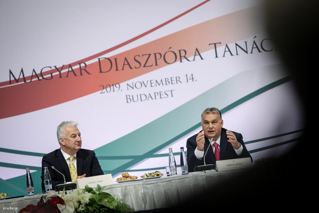 Semjén Zsolt és Orbán Viktor