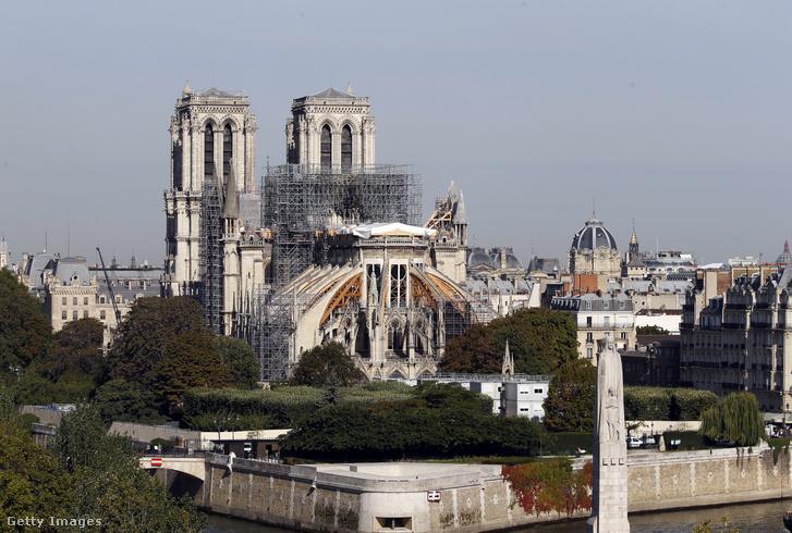 Notre-Dame székesegyház 2019. szeptember 6-án