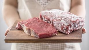 Így olvaszd ki a fagyasztott húst alig 10 perc alatt