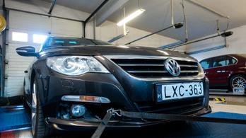 Totalcar Erőmérő: Volkswagen Passat CC 2.0 CR TDI