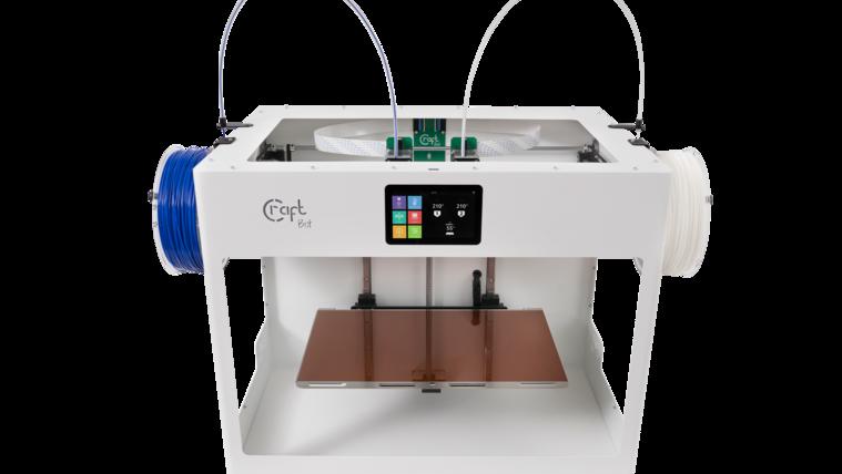Brutális az új Tank, a magyar CraftUnique 3D-nyomtatója