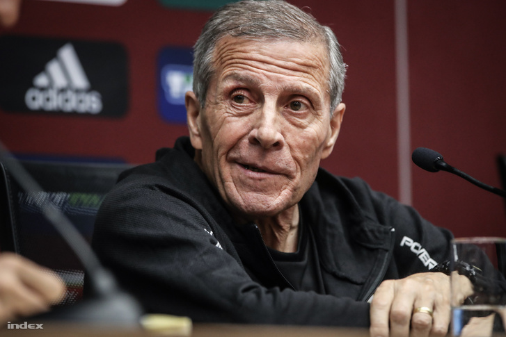 Oscar Tabárez, az uruguayi szövetségi kapitány