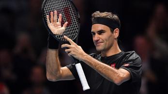 Federer simán legyőzte Djokovicot, Nadal marad a világelső