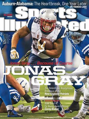 Gray a Sports Illustrated címlapján