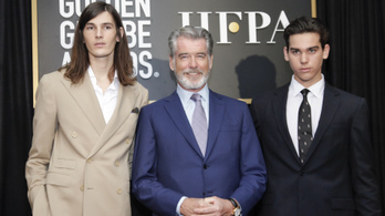 Pierce Brosnan fiai lesznek a januári Golden Globe-gála nagykövetei