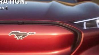 Kiszivárgott a Mustang-jelvényes elektromos Ford