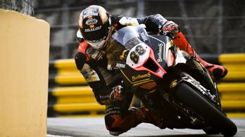 Peter Hickman uralta a Macau GP edzéseit