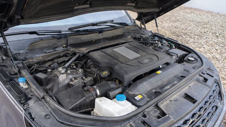 4,4 literes V8-as dízelt eredetileg Ford F150-esekbe rakták. 339 lóerő mellé 700 Nm társul