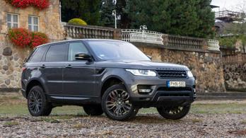 Használtteszt: Land Rover Range Rover Sport SDV8 - 2017.
