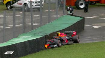 Brazil GP: Kubica csattant, Kvjat kigyulladt