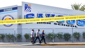 Meghalt a csütörtökön két diákot meggyilkoló iskolai lövöldöző