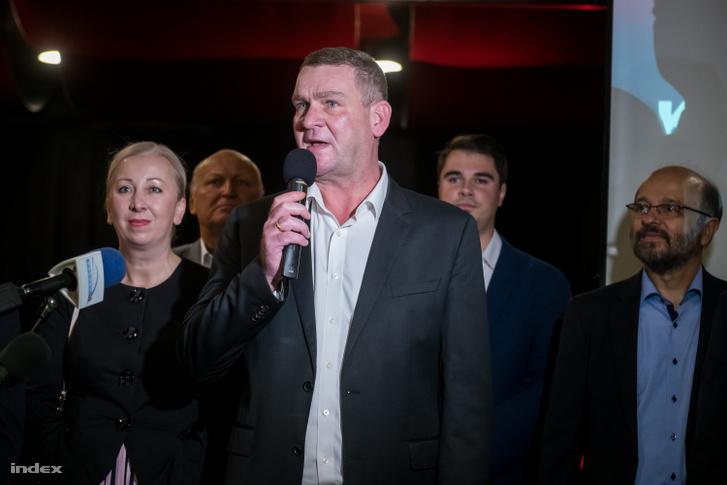 Botka László az önkormányzati választások éjszakáján