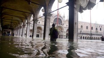 Vasárnap újabb árhullám érkezhet Velencébe