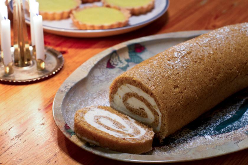 Sütőtökös, mascarponés süti piskótából: hihetetlenül puha, és a krém is mennyei