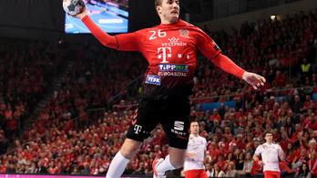 Pár másodperc jutott magyarnak a Veszprém győztes BL-meccsén