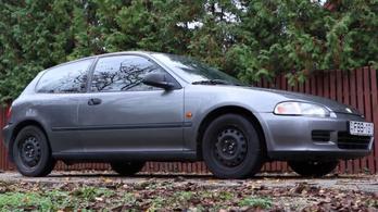 Használtteszt: Honda Civic ESI - 1992.