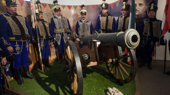 Budapesten állítják ki Gábor Áron ágyúját