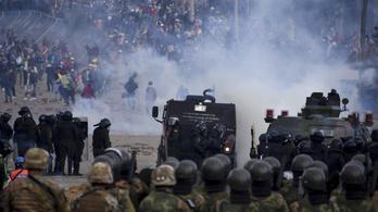 IACHR: 23 halott, 715 sebesült Bolíviában