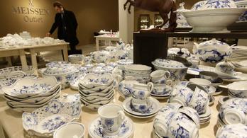 A több mint 300 éves meisseni porcelánmanufaktura durva leépítésre kényszerült