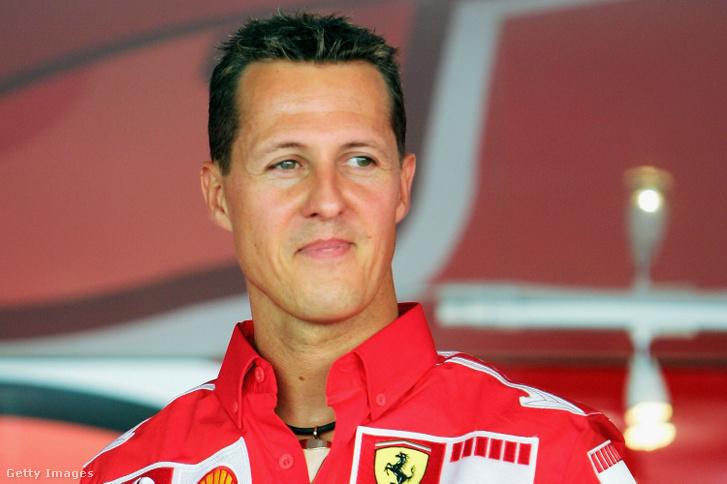 Michael Schumacher 2005. szeptember 1-jén.