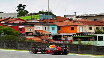 Verstappen nyeri a brazil káoszfutamot, egy Toro Rosso a 2.
