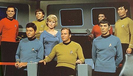 Az Enterprise legénysége az 1966-os sorozatban