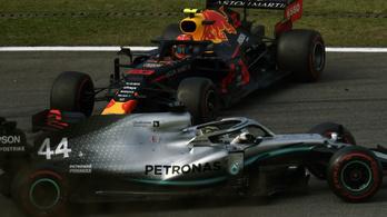 Brazil GP: megbüntették Hamiltont, bukja a dobogót