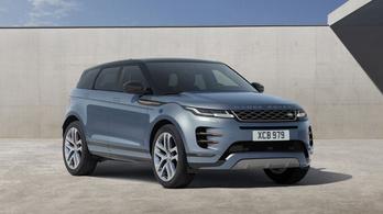 Új hibrid modelleket mutat be a Land Rover