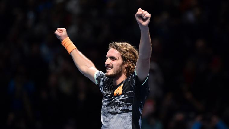 A 21 éves Cicipasz hatalmas meccsen nyerte meg az évzáró tornát