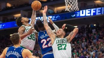 Egy ponton múlott, de véget ért a Boston Celtics győzelmi sorozata