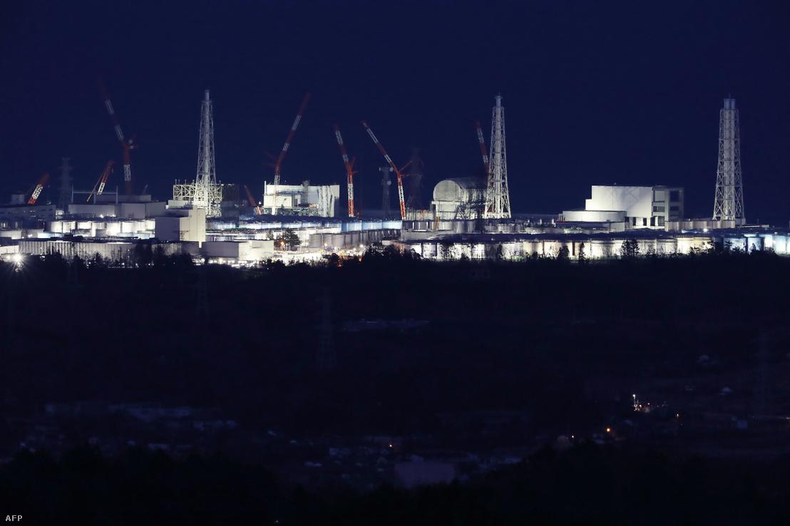 Fukushima Daiichi atomerőmű 2018. március 10-én