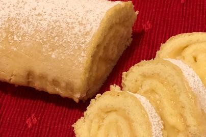 Puha piskótatekercs lágy citromkrémmel töltve - Hogy lesz tökéletes a tészta?