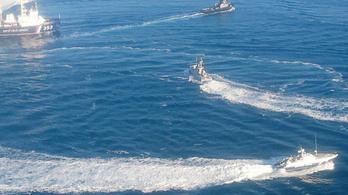 Az oroszok visszaadják a kercsi incidens után lefoglalt ukrán hajókat