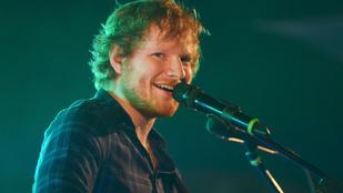 185 millió forintért zenélt Gordon Ramsay lányának Ed Sheeran