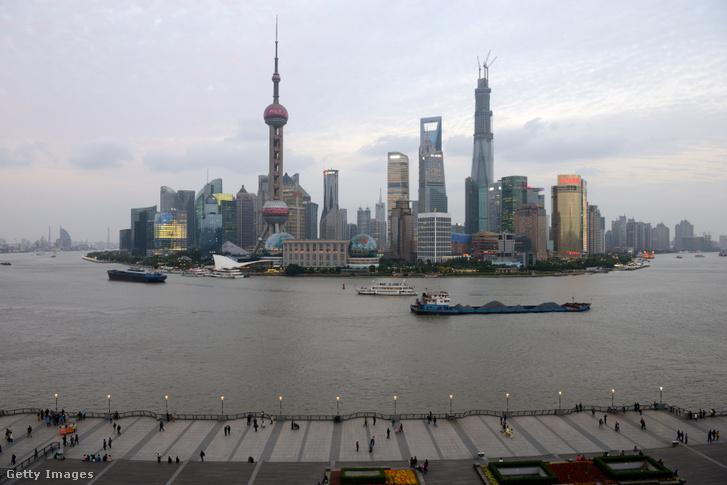 Sanghaj városa