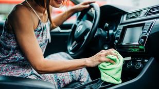 Így takarítsd hatékonyan az autód belsejét