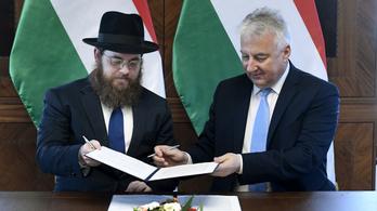 A magyar zsidó közösség reneszánszáért kötött megállapodást a kormány és az EMIH
