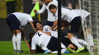 9 gólt vágtak az olaszok, Fradi- és Fehérvár-játékos is betalált az Eb-selejtezőn