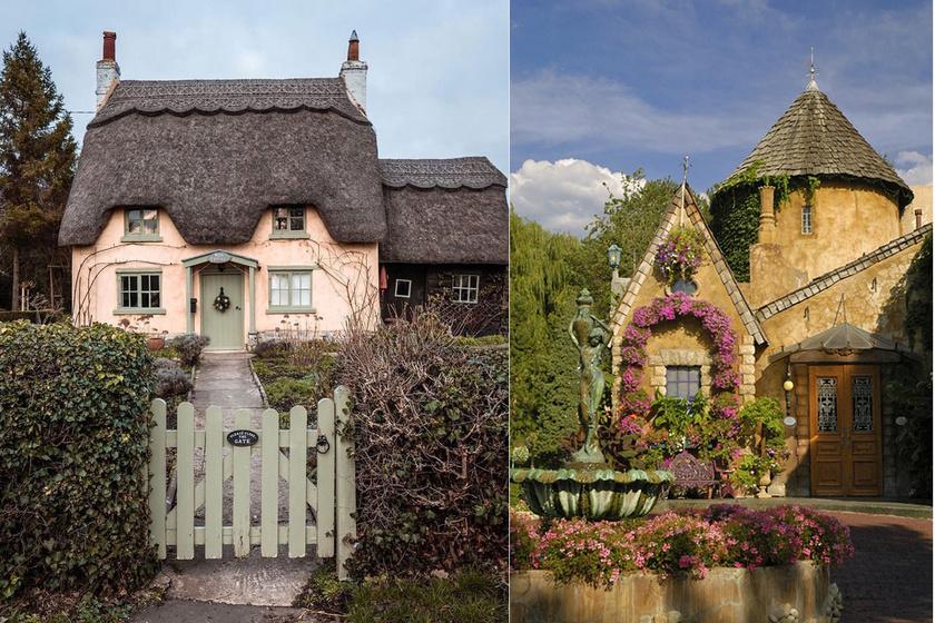Nem is tudjuk eldönteni, melyik vidéki házikó a szebb.