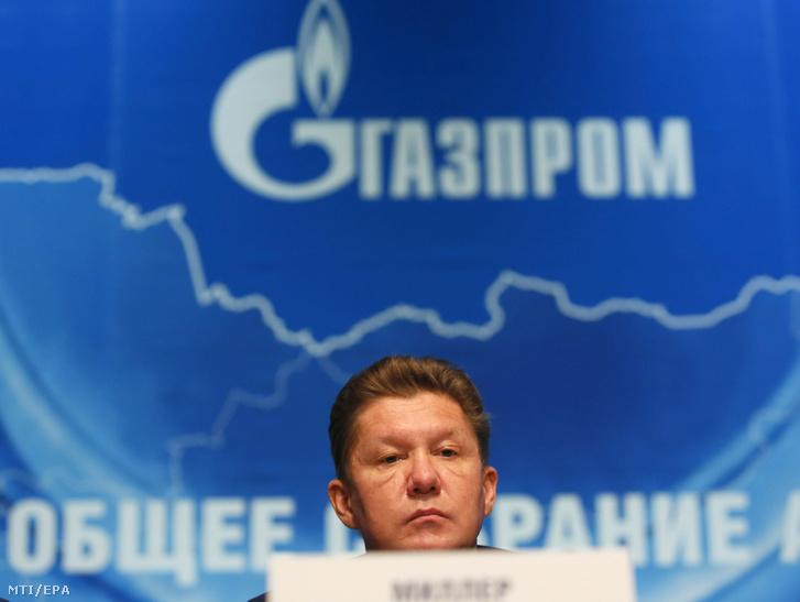 Alekszej Miller, a Gazprom orosz állami gázipari monopólium vezérigazgatója