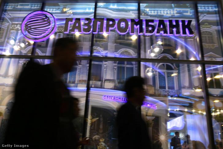 Gazprombank stand a 2018-as szentpétervári gazdasági fórumon
